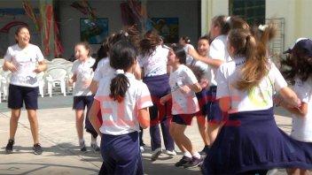 Escuela Luján entregó donaciones de Once por Todos: