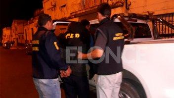 Los dos detenidos por el crimen de De la Fuente fueron trasladados a Diamante