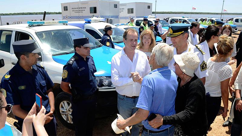 Bordet inauguró la temporada turística y presentó el operativo Verano Seguro