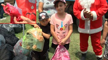 Video: La notita que escribió un niño en la bolsa de los juguetes que donó