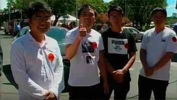 Ayudar hace bien: Supermercadistas chinos donaron un cargamento de alimentos