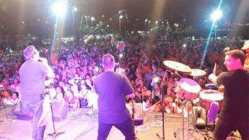 Gran cierre musical de la fiesta de la solidaridad con el show de Los Príncipes