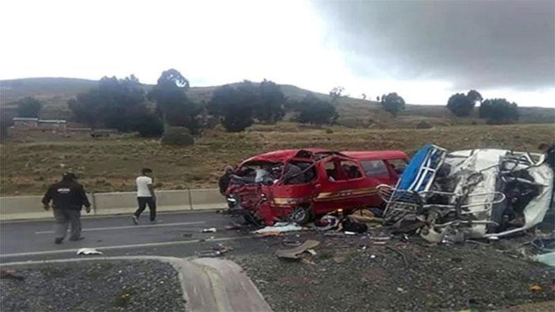 Tragedia en Bolivia: 17 muertos y más de 10 heridos en un accidente de tránsito