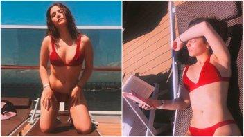 Ángela Torres y sus fotos sexies arriba de un barco