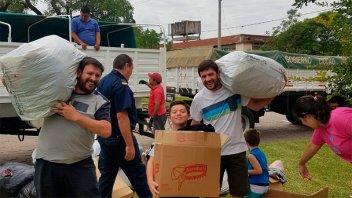 ¡Gracias!: Las donaciones de Once por Todos llegaron a destino