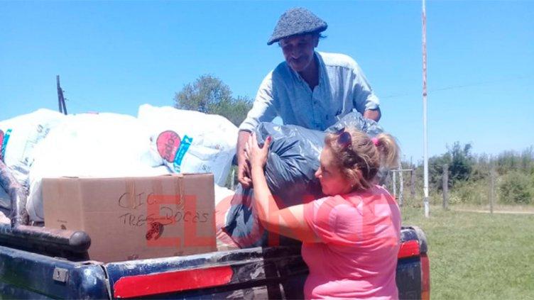 A menos de 24 horas, las donaciones de Once por Todos llegaron a los CIC