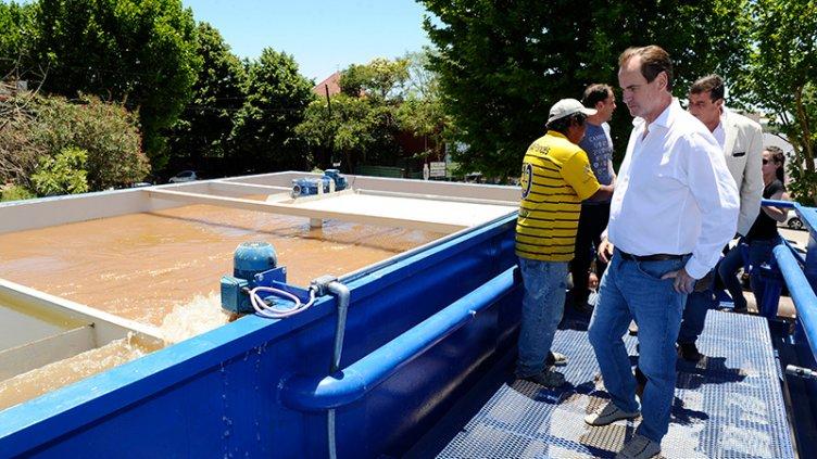 Por mayor consumo, prevén la provisión de más agua potable en la provincia