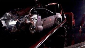 Se recuperan los padres del joven fallecido en accidente sobre Ruta 12