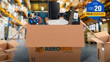 Aerobox: ¡Llega el verdadero puerta a puerta a la Argentina!