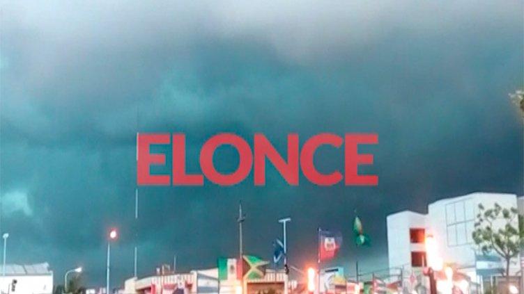 Video: Nubes de tormenta y la llegada del temporal a Concordia