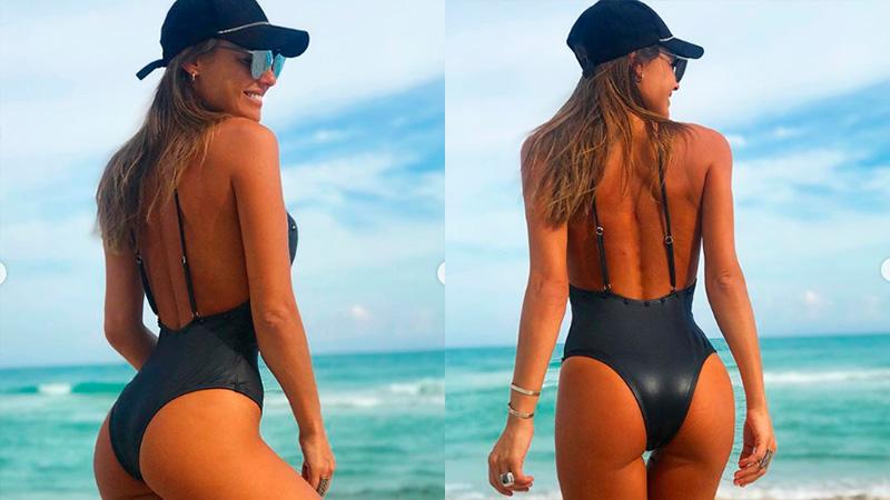 Sus Playas Baño Trajes De Pampita En Miami Luce Las 1FlTJ3Kc