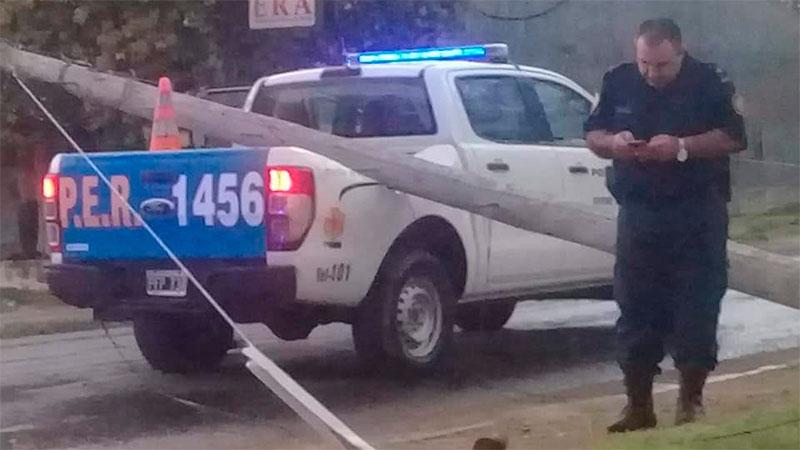 Fuerte temporal en La Paz ocasionó caída de postes y árboles: Videos y fotos