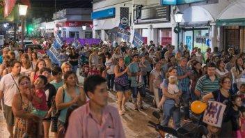 Más de 2 mil personas se movilizaron en Gualeguay por el hospital