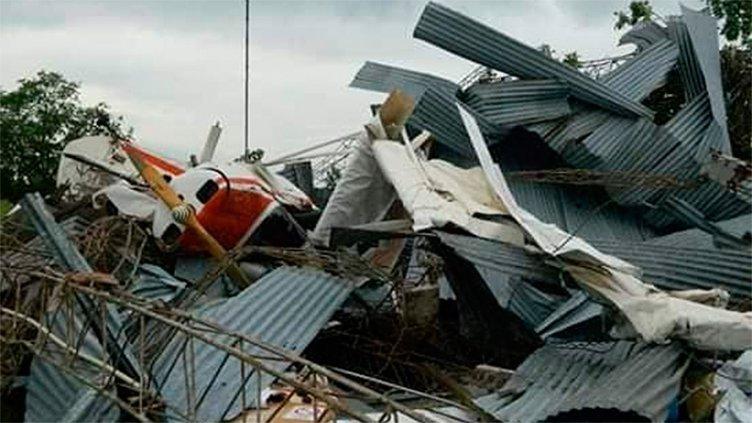 Las impresionantes imágenes que dejó el feroz temporal en Córdoba