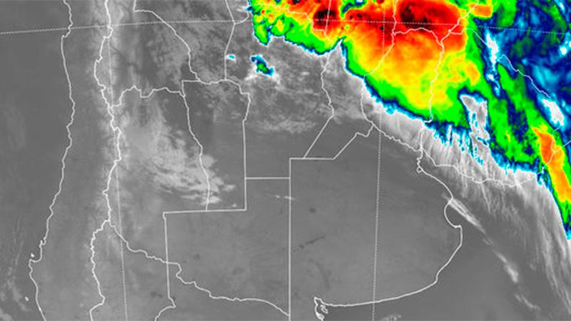 Santiago: Se esperan tormentas fuertes para el Este de  del Estero
