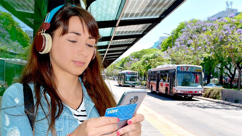 Ya se puede cargar crédito para la SUBE a través del celular