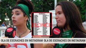 Ola de escraches: Video de los primeros testimonios que revelan denuncias