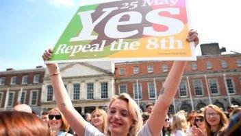 Después del histórico referéndum, Irlanda aprobó la legalización del aborto