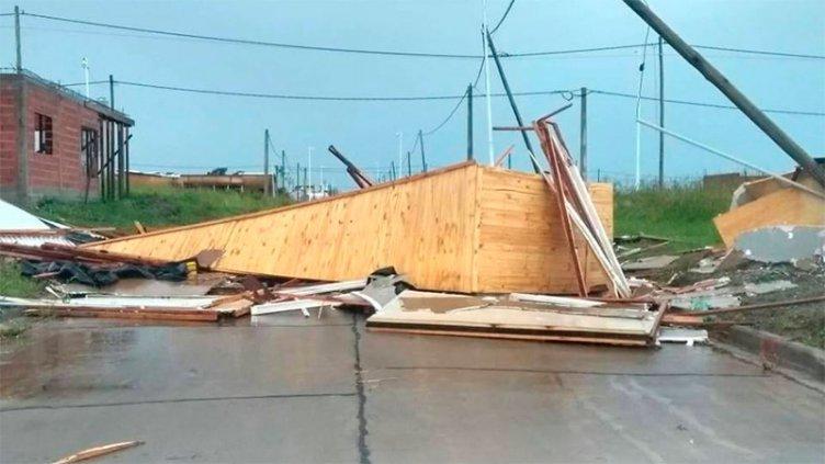 Voladuras de techos y severos daños en jardín de infantes en San Benito
