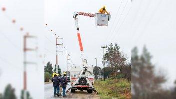 Corte en el suministro de energía eléctrica afecta la zona sur de Paraná