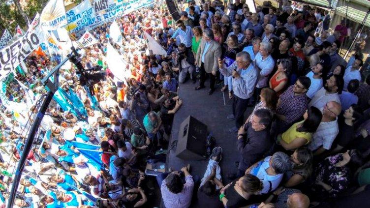 Unidad Ciudadana convocó a un nutrido acto en Villaguay