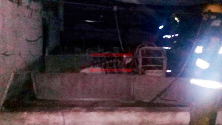 Incendio consumió un criadero de cerdos y murieron varios animales