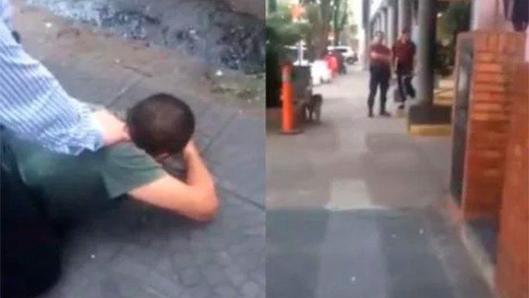 Dos policías fueron separados de la fuerza por negarse a detener a delincuente