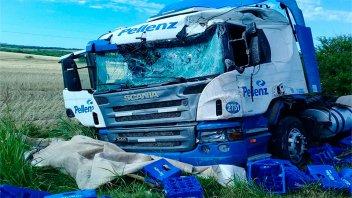 Confirman identidad y cómo ocurrió el choque que le costó la vida a camionero
