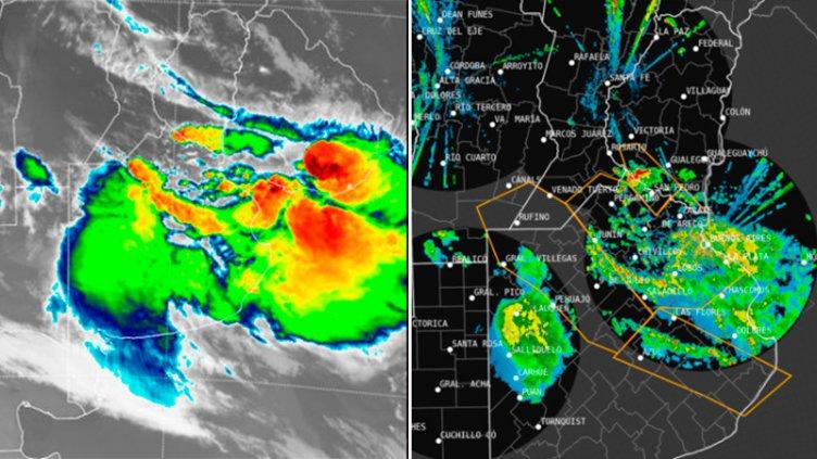 Alerta por lluvias y tormentas intensas: El temporal se acerca a Entre Ríos