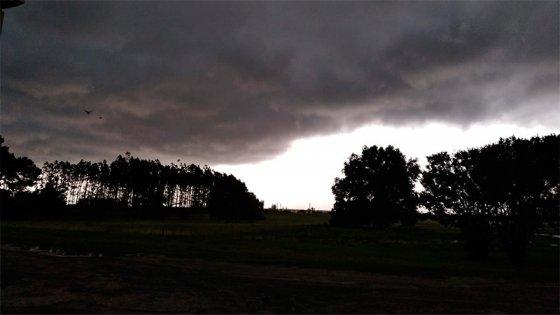Alerta: El ojo del temporal pasa por una zona de de Entre Ríos