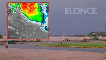 Alerta por lluvias y tormentas para una zona de Entre Ríos y ocho provincias