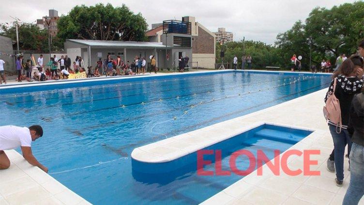 Inauguraron la pileta semiolímpica y las actividades de verano en Parque Berduc