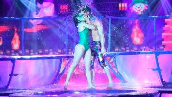 ¿Qué pasa entre Julián Serrano y su compañera en el Bailando?