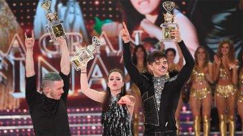 El paranaense Julián Serrano y Sofía Morandi, campeones del Bailando
