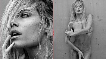 Deslumbrante desnudo de Emilia Attías para una campaña publicitaria