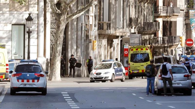 EEUU alerta de riesgo de atentados en las Ramblas (Barcelona) en Navidad