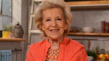 Murió la cocinera Choly Berreteaga: Tenía 91 años y 50 cocinando en TV