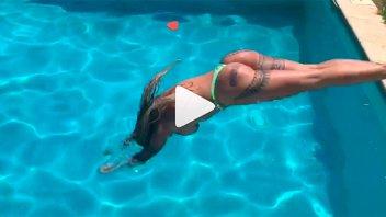 El video más hot del verano: Florencia Peña al desnudo