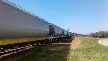 En tren, transportaron 2.000 toneladas de trigo entrerriano
