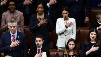 Asumió el nuevo Congreso en EE.UU y hay récord de presencia femenina