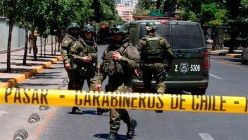 Atentado en Chile: explosión en una parada de colectivos dejó cinco heridos