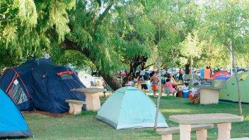 Este fin de semana San José vivirá la Fiesta del Campamentista
