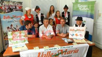 Valle María presentó su Fiesta Provincial del Sol y del Río