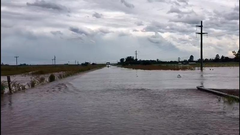 Resultado de imagen para ruta 12 cortada por las lluvias