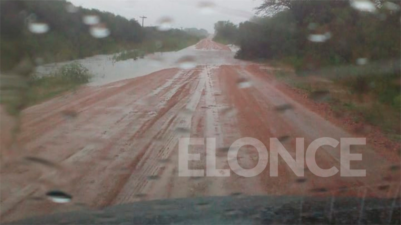 Ruta 28, en la zona de Feliciano