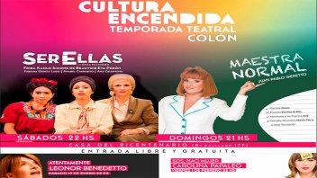 Colón tendrá una temporada teatral con reconocidos artistas