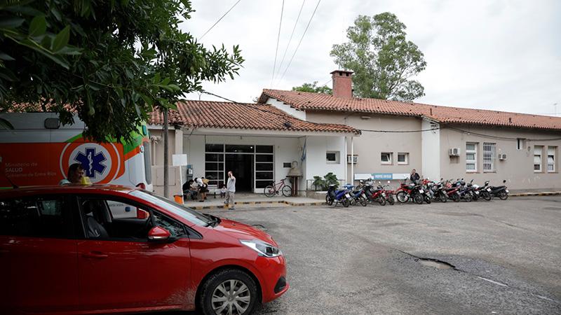 Hospital San Blas de Nogoyá.