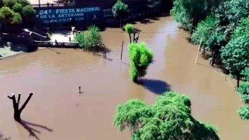 Entre Ríos accedió a financiamiento para obras que eviten inundaciones