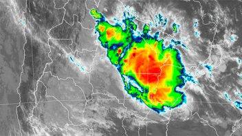 Otra vez hay alerta por tormentas y prevén lluvias de hasta 150 milímetros