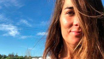 Topless y mariposas: La foto hot de Juanita Viale